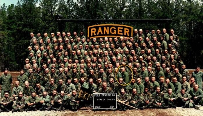 Ranger School Graduation Class Class 5-87